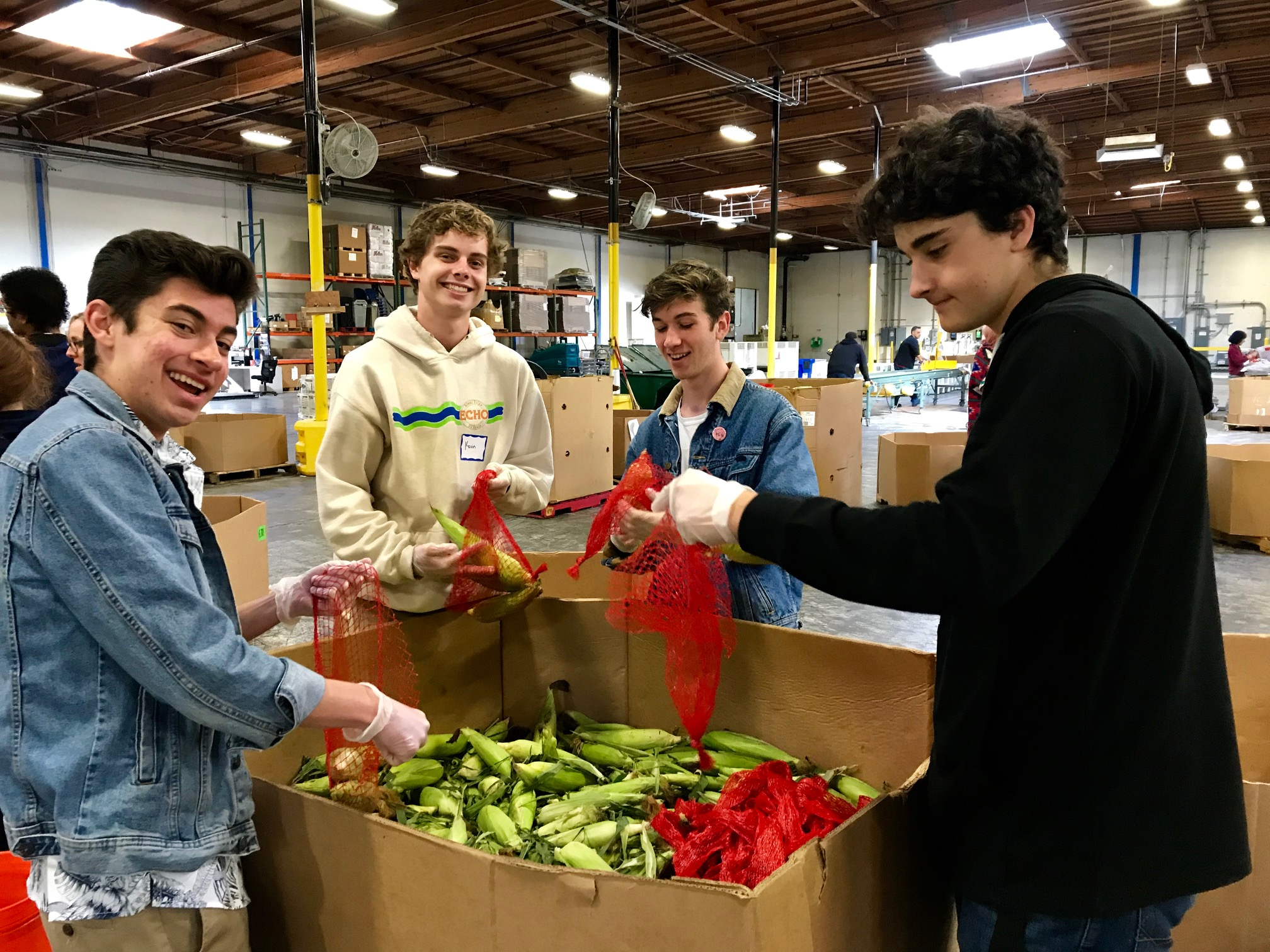 Alameda Food Bank – Service Day