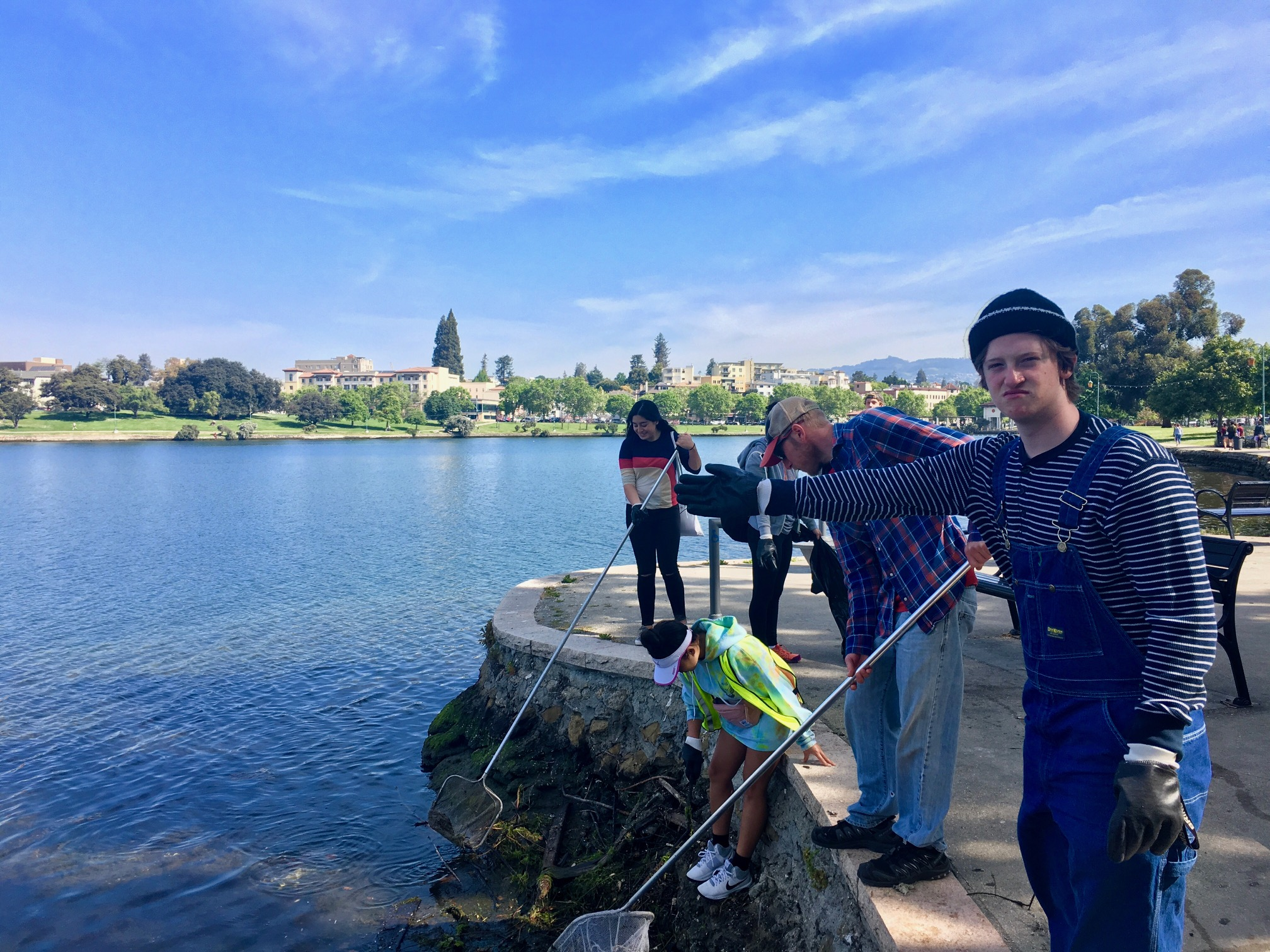 Lake Merritt Clean Up – Service Day